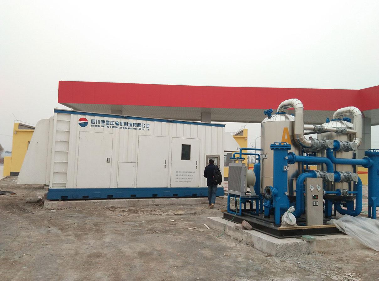 CNG加气站成套设备